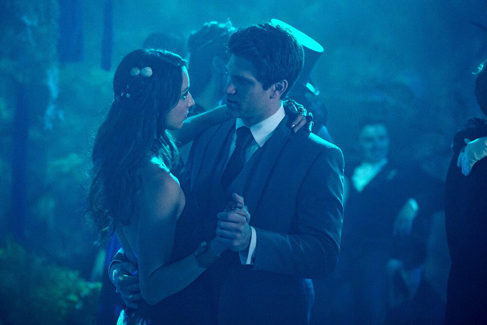 Spencer and Toby at Prom in Pretty Little Liars