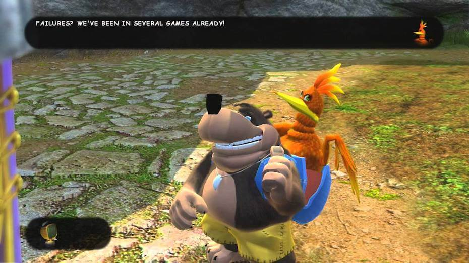 Banjo-Kazooie: Nuts and Bolts - Failures? We've been in several games already