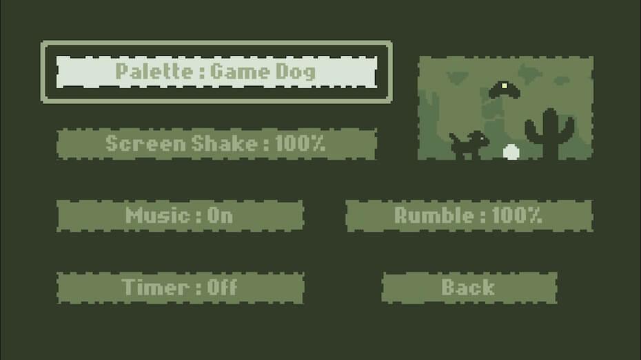 Dig Dog: Game Dog palette