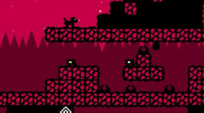 Dig Dog: Red mountain level enemies