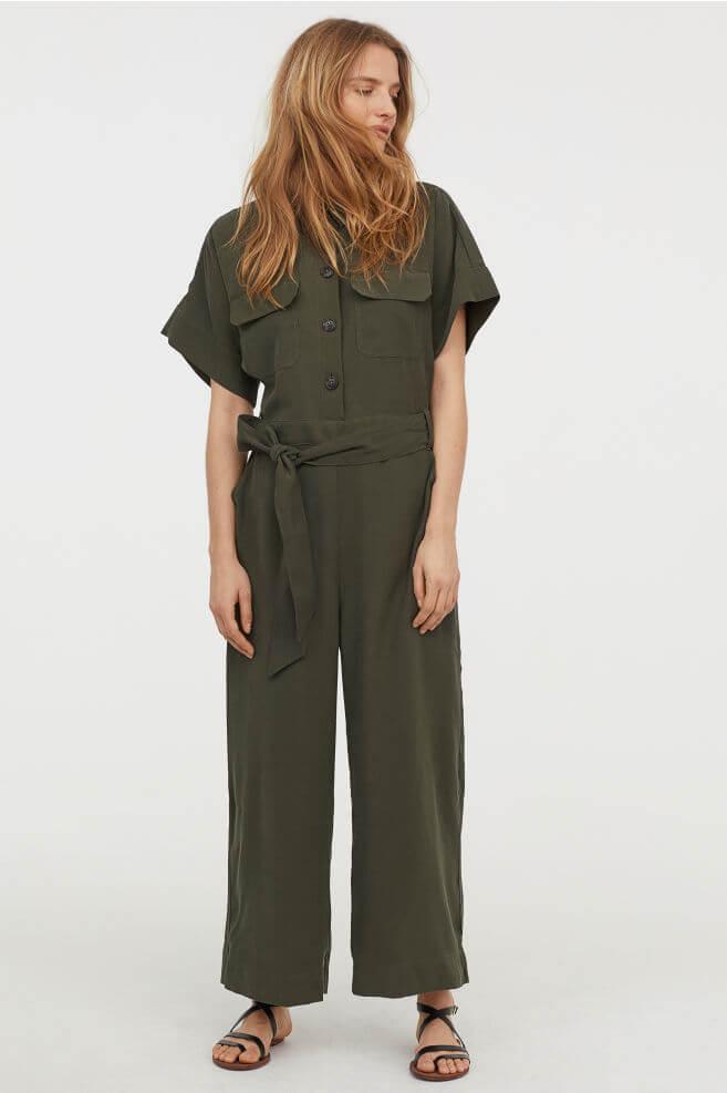 H&M cargo jumpsuit