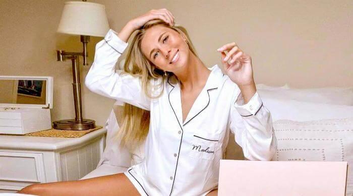 Instagram: Homebodii pajamas in blush