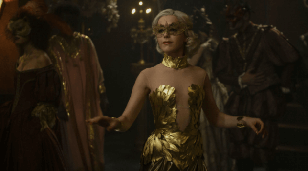 CHILLING ADVENTURES OF SABRINA - SABRINA DANCING AT THE BALL