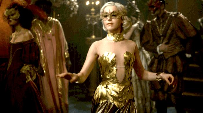 CHILLING ADVENTURES OF SABRINA - SABRINA DANCING AT THE BALL