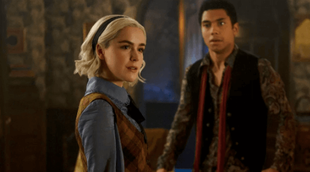 CHILLING ADVENTURES OF SABRINA - MANDRAKE SABRINA AND AMBROSE