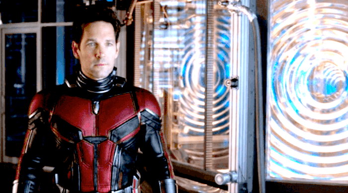 Scott Lang in ant-man and the wasp