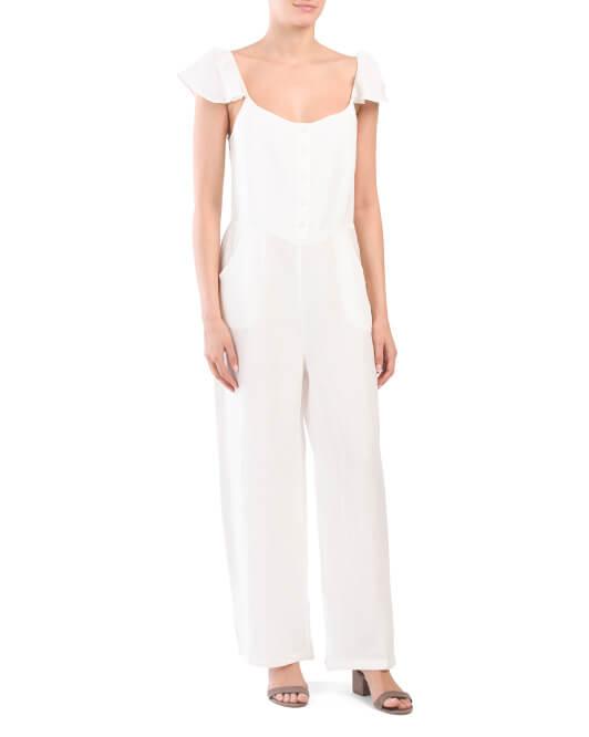 tjx white jumpsuit