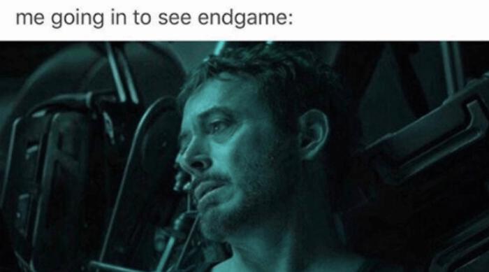 Tony Stark Endgame Meme