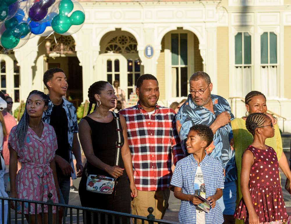 The Johnson Family on Black-ish