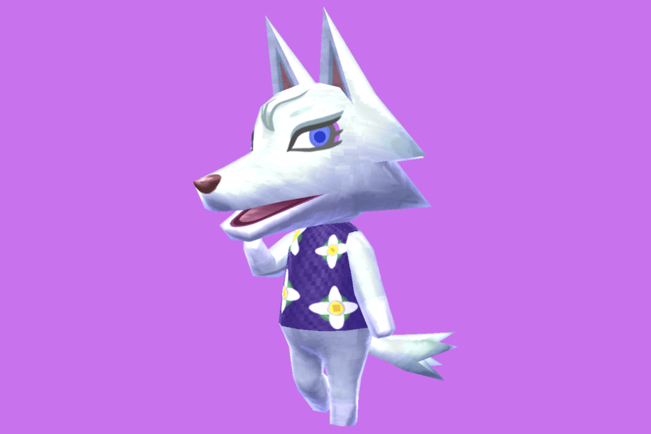 cat wolf animal crossing characters