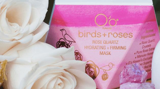 Birds and Roses Rose Quartz Hydrating Mask
