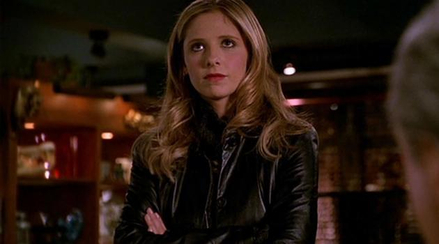 Sarah Michelle Gellar as Buffy Summers in Buffy the Vampire Slayer