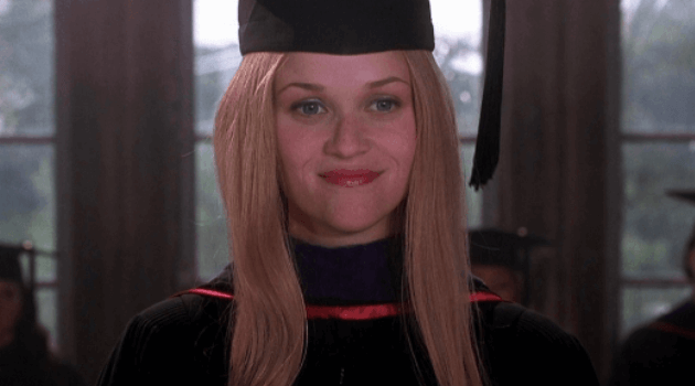 LEGALLY BLONDE - ELLE WOODS COMMENCEMENT SPEECH