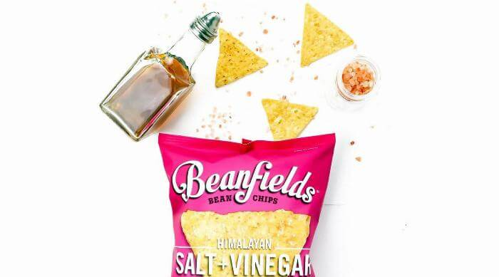 Instagram: Beanfields Himalayan Salt and Vinegar Chips