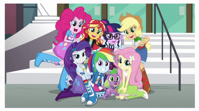 My Little Pony: Friendship Is Magic group photo