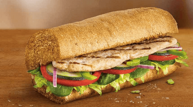 SUBWAY OVEN ROASTED CHICKEN BREAST