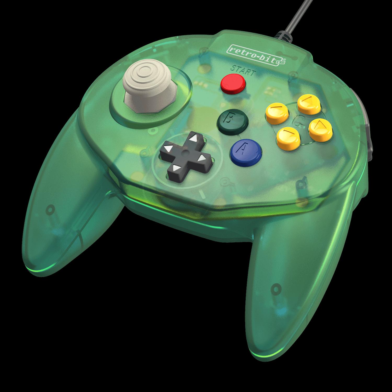 retro-bit-tribute65-controller-green-angle-051719