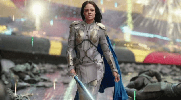 THOR: RAGNAROK - VALKYRIE SHOWING UP TO FIGHT