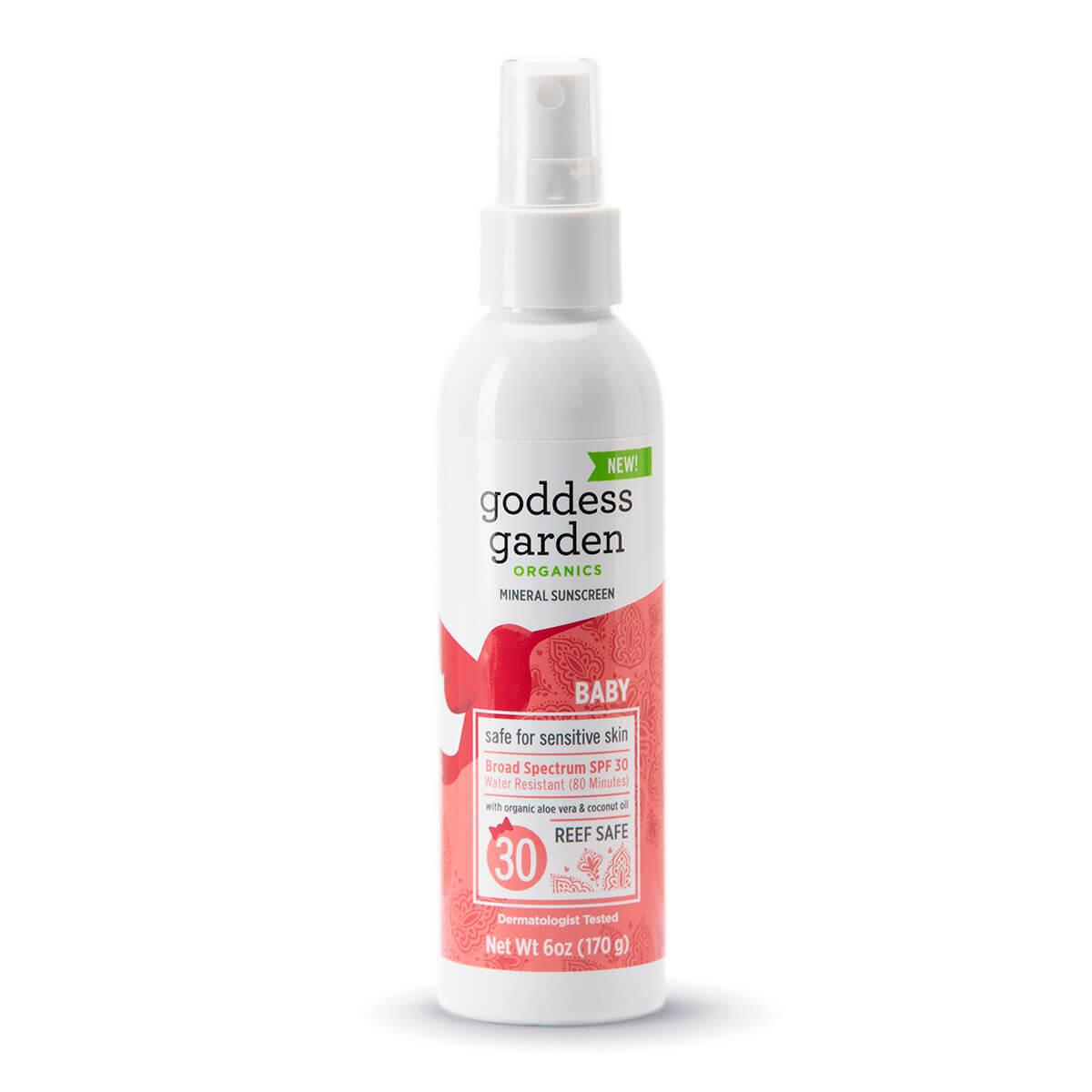 Green Goddess Organics Baby Spray
