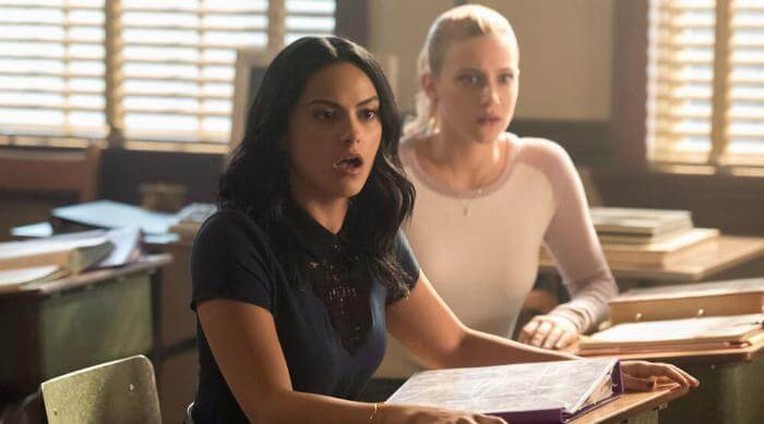 Betty and Veronica on Riverdale