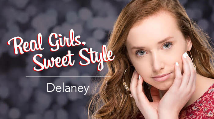 Real Girls Sweet Style Delaney