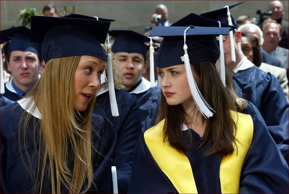 Gilmore Girls Gradution