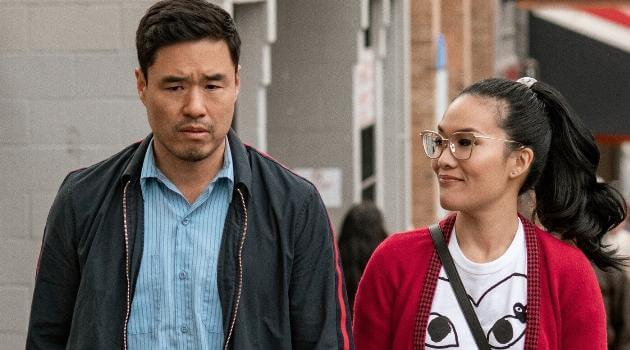 Sasha and Marcus walking the streets of San Francisco together in 'Always Be My Maybe'