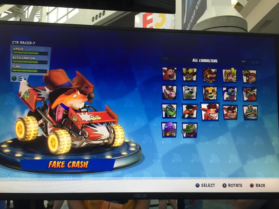 Reaction to Crash Team Racing: Nitro-Fueled at E3