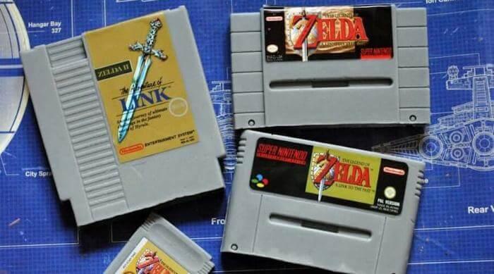 Etsy: Soap Legend of Zelda cartridges