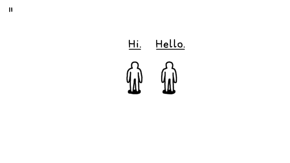 Kids: Hi and hello figures