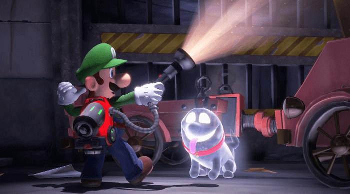 Luigi's Mansion 3: Luigi and Polterpup