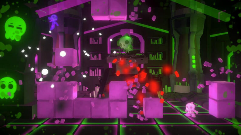 Squish: Gameplay screen battle