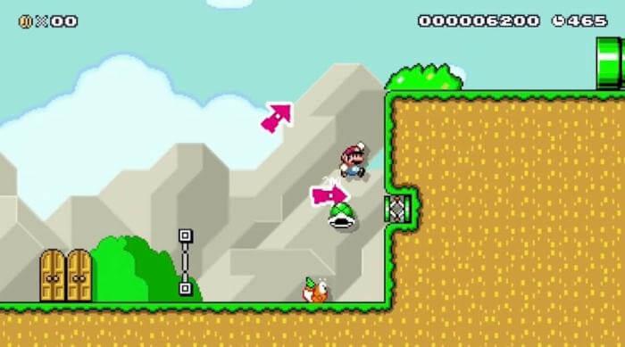 Super Mario Maker: Shell Jump