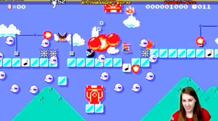 Super Mario Maker: thedragonfeeney Super Mario Maker player