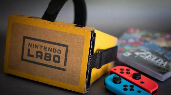 Sweat Proof Gaming: Nintendo Labo VR Kit