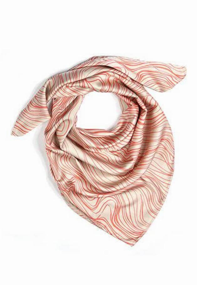 Elyse Maguire head scarf