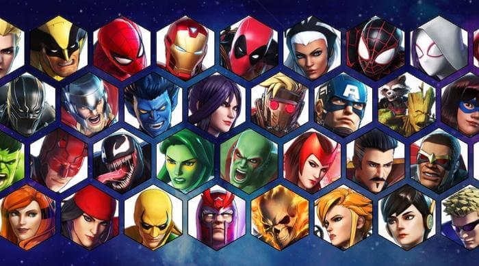 Marvel Ultimate Alliance 3 character roster