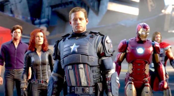 Marvel's Avengers Game Square Enix