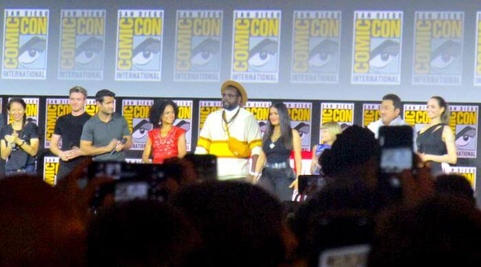 San Diego Comic-Con 2019 Marvel: The Eternals Cast