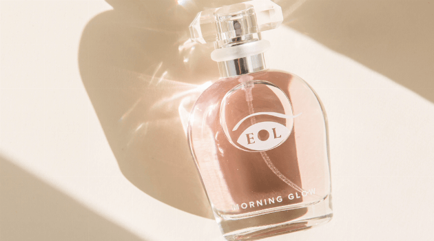 morning glow perfume bottle