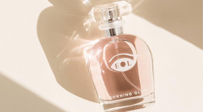 morning glow perfume bottle