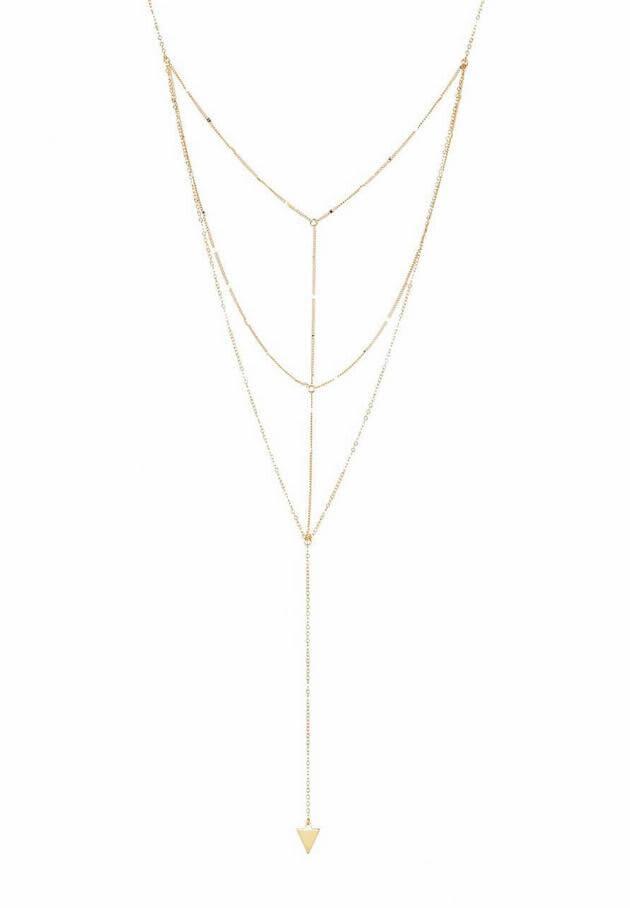 sterling forever gold necklace