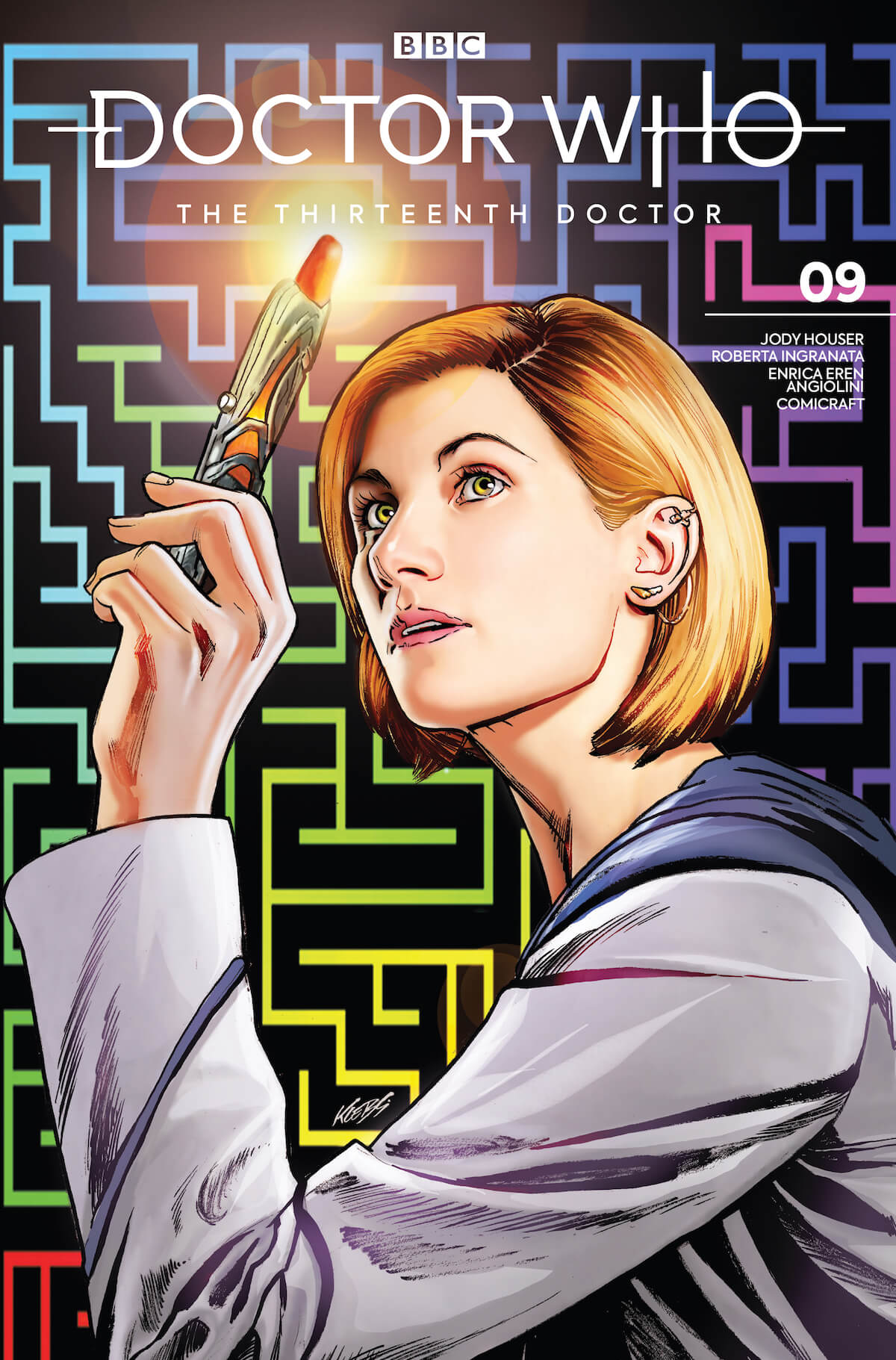 Titan Comics: Doctor Who: The 13th Doctor book cover