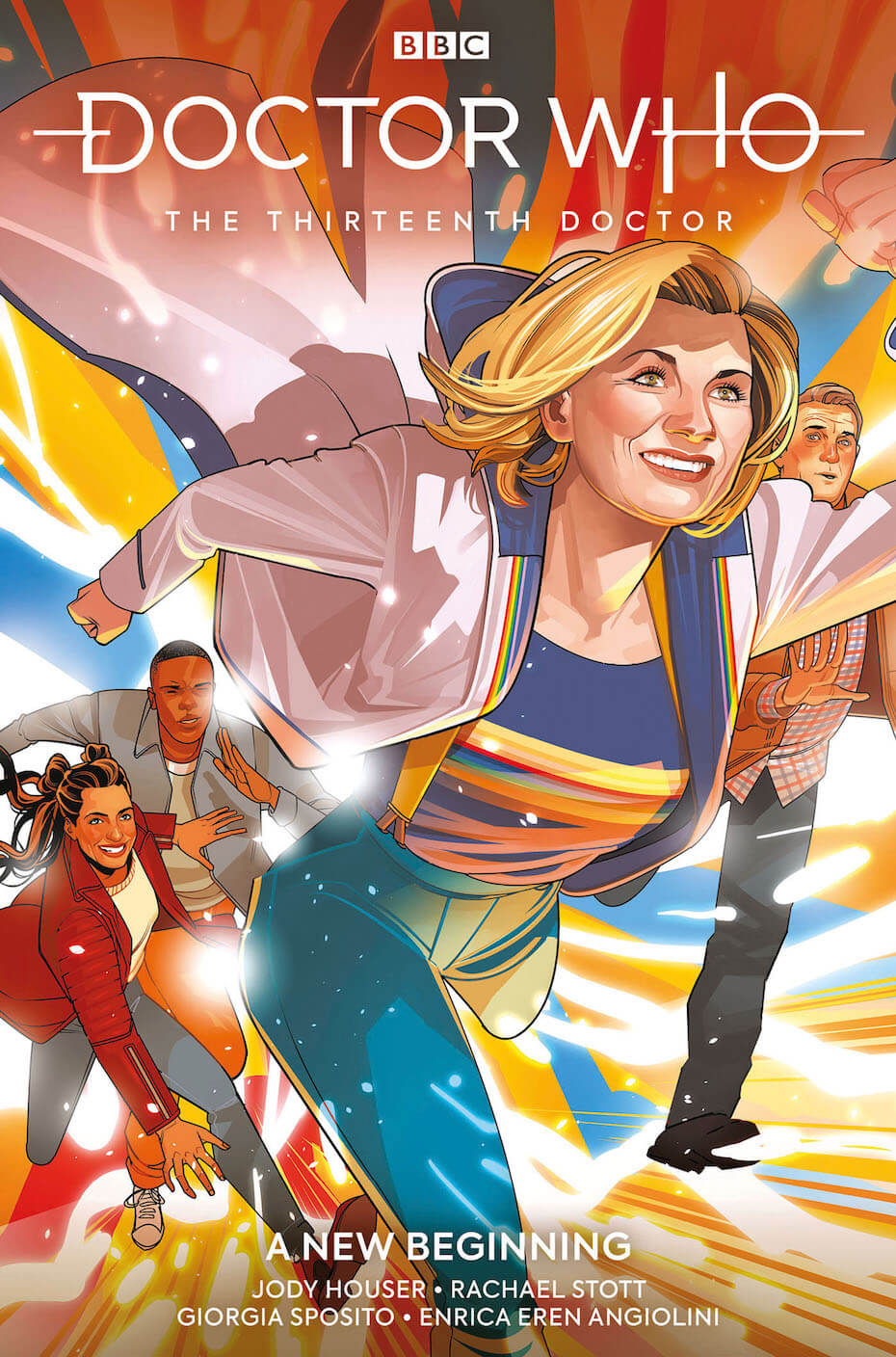Titan Comics: Doctor Who: The 13th Doctor New Beginning by Jody Houser