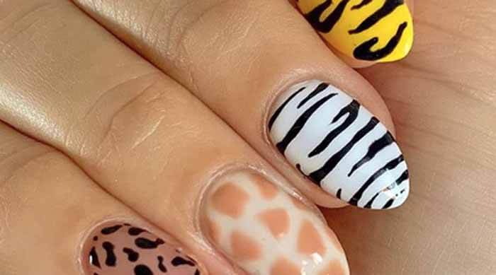 Grow Out nails