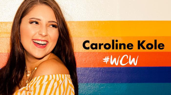 Caroline Kole woman crush Wednesday
