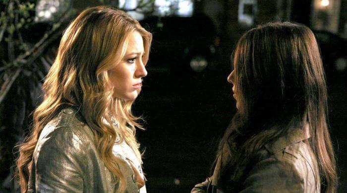 Gossip Girl: Serena and Georgina confrontation