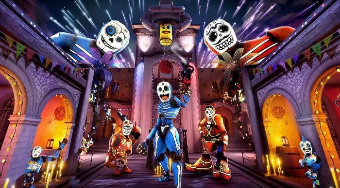 Morphies Law: Remorphed - Title screen
