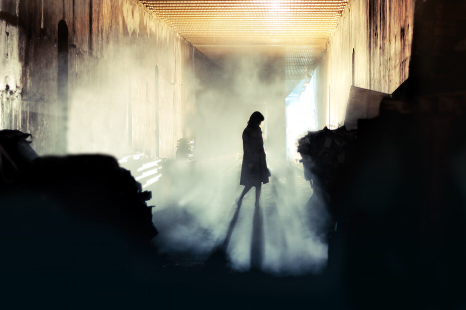shutterstock-mysterious-woman-misty-factory-080919