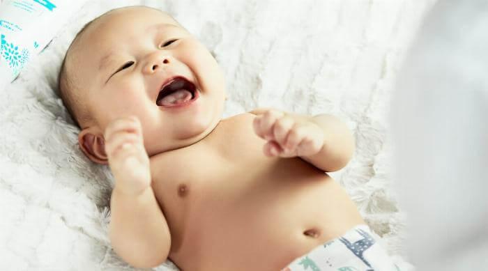 Unsplash: Cute smiling baby